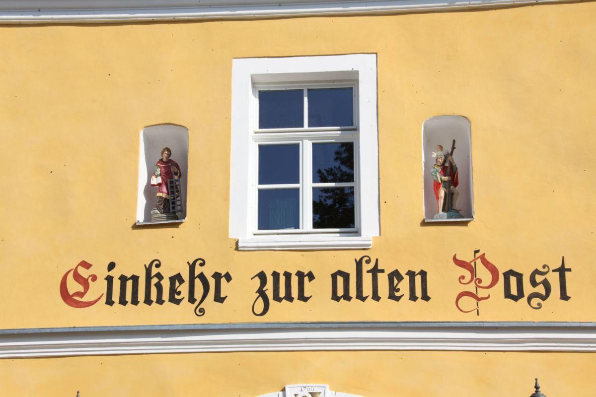 Alte Post Ponholz - Bayerische Denkmalschutzmedaille - TGAwerk