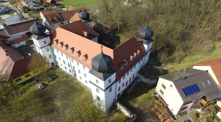 Denkmalschutz Gebäude Architektur Schloss Pirkensee