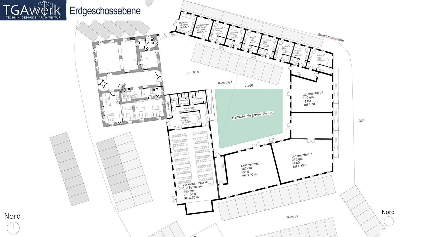 Viersheithof Erdgeschoss