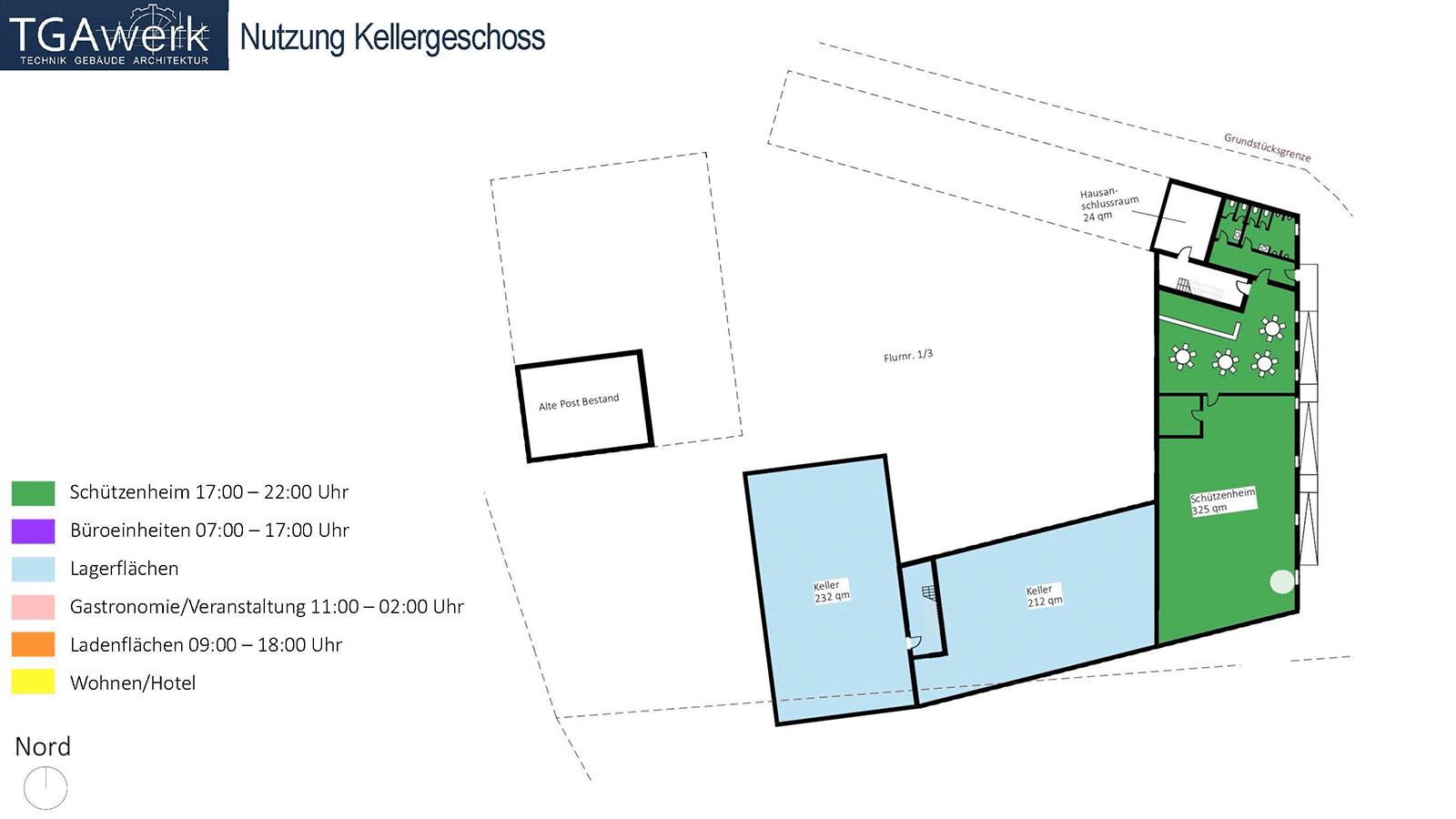 Viersheithof Kellergeschoss